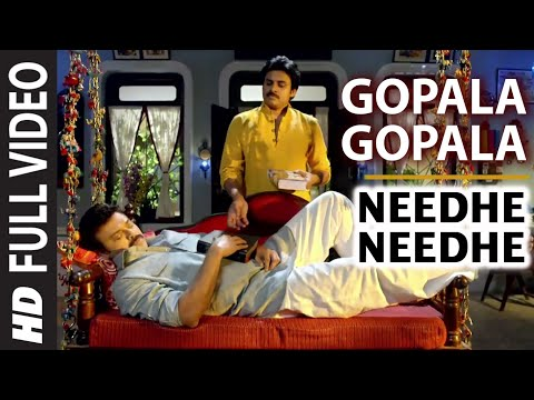 Gopala Gopala || Needhe Needhe Video Song || Venkatesh Daggubati, Pawan Kalyan, Shriya Saran