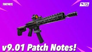 v9.01 Patch Notes! (FORTNITE)