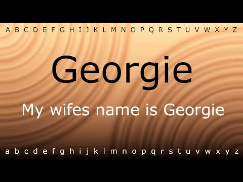 Here I will show you how to say 'Georgie' with Zira.mp4