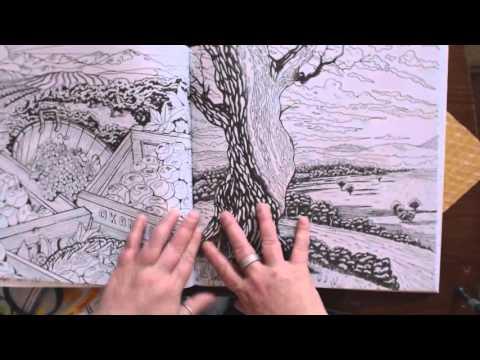 """""""Legendary Landscapes"""", a coloring adventure"""