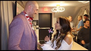 "TYSON FURY ON WILDER THINKING HE WON ""HE'S CONFUSED & GOT A LOT OF PUNCHES ON THE NIGHT! I'M CHAMP!"""