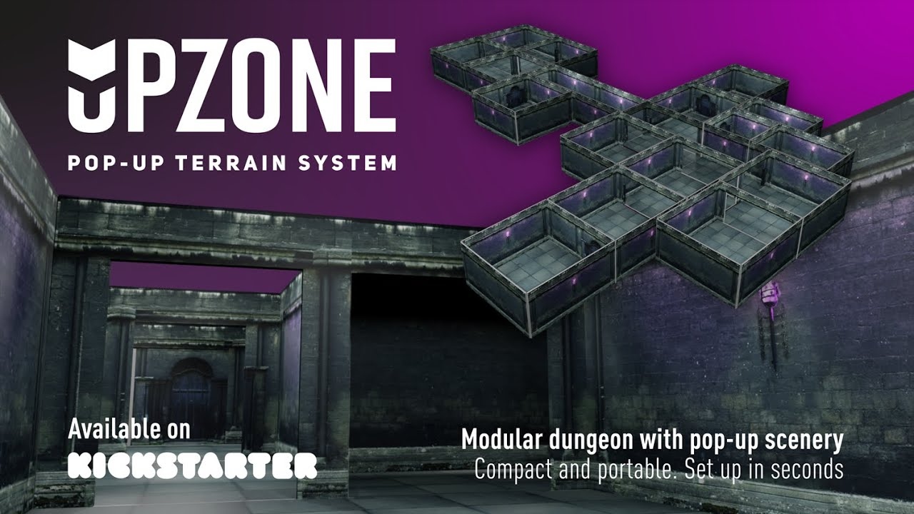 Upzone - Dungeon Zone pop-up terrain system