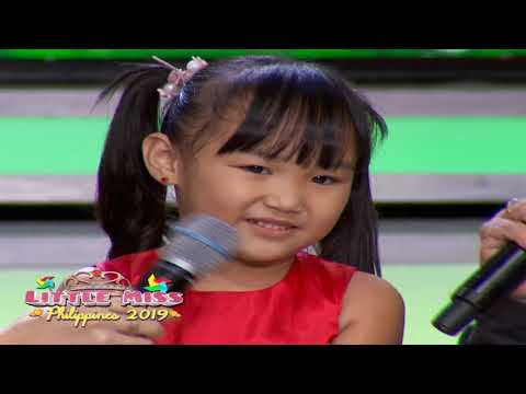 Little Miss Philippines 2019 - Question and Answer | July 12, 2019