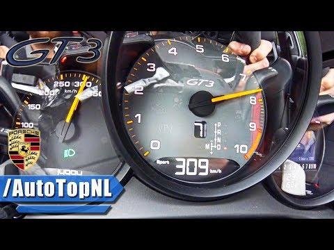 Porsche 911 GT3 991.2 0-300km/h ACCELERATION & LAUNCH CONTROL By AutoTopNL