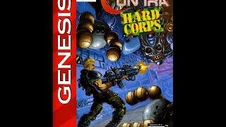 Contra: Hard Corps Полное прохождение (Все пути, развилки, концовки) Sega Rus