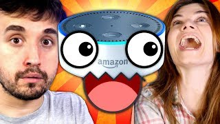 A SECRETÁRIA VIRTUAL MAIS ZOEIRA DO MUNDO. - Alexa vs. Google Home