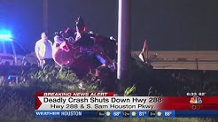 Deadly crash shuts down Hwy 288