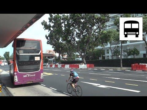 Scania K310UD (Gemilang, SBS7888K) - Departing from Bus Stop