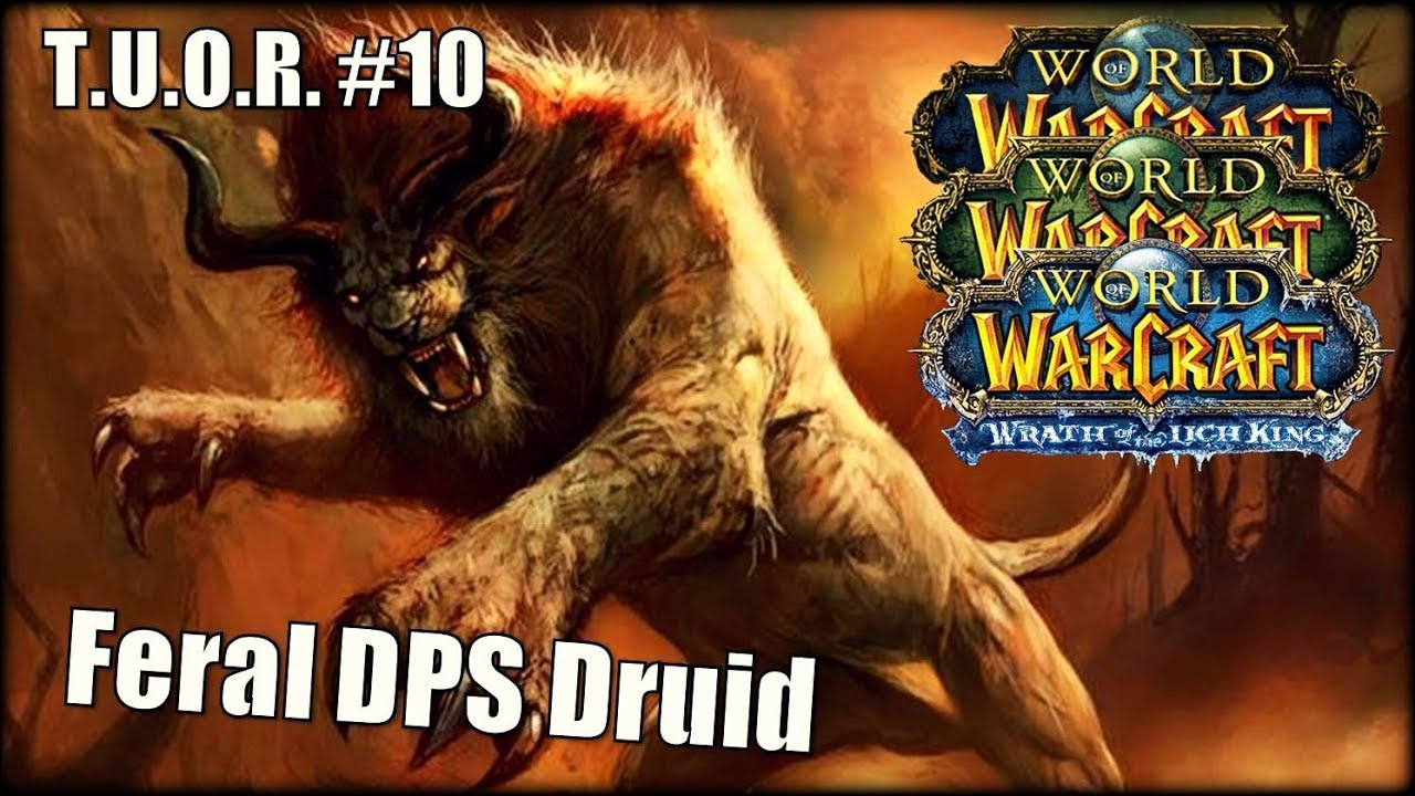 The Underdogs Of Raiding 10 Feral Dps Druid Feat Shedothedruid Youtube