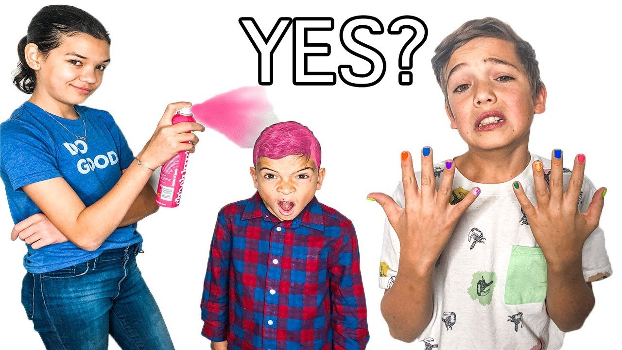 SAYING Yes to GIRLS for 24 hours! image