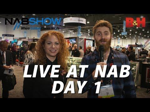 B&H Live at NAB 2019 - Day 1