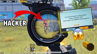 OMG!! ENEMY BANNED ME😱Pubg Mobile