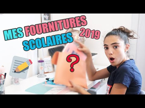 MES FOURNITURES SCOLAIRES - BACK  TO SCHOOL 2019 #3