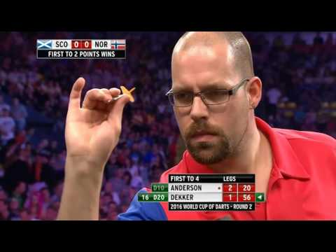 Scotland v Norway ᴴᴰ 2016 World Cup of Darts | Round 2