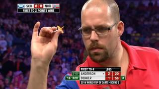 Scotland v Norway ᴴᴰ 2016 World Cup of Darts | Round 2