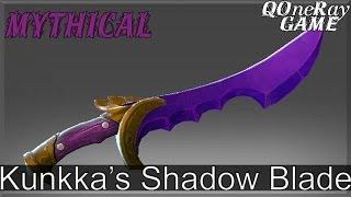 Dota 2 Items : Kunkka - Kunkka's Shadow Blade ( Genuine, Mythical )