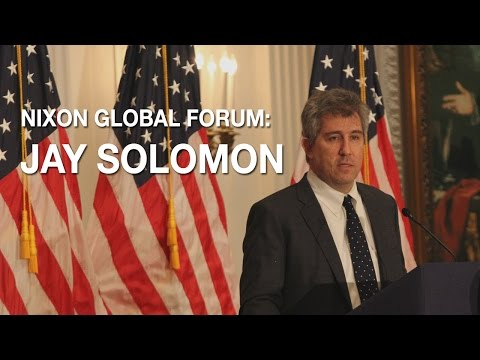 Nixon Global Forum with Jay Solomon | Richard Nixon Presiden