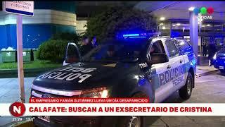 FABIÁN GUTIÉRREZ DESAPARECIDO: buscan al exsecretario de CFK en El Calafate