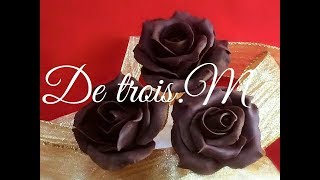 Repeat youtube video プラチョコ薔薇の作り方 Rose to make with chocolate 2