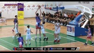 U12 - REAL MADRID vs FRENCHY PHENOMS.- Final Torneo MARCA Villa de la Roda 2018 (BasketCantera.TV)