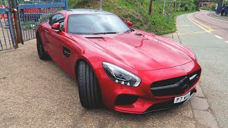 MY FRIEND BOUGHT A NEW MERCEDES AMG GTS!!
