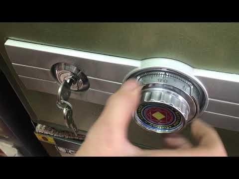 Cách mở khóa két sắt Hòa Phát Hộp 3 mã số Đúng kỹ thuật