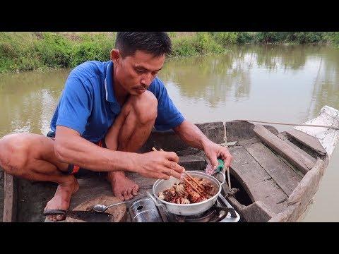 Cua Đồng Rang Me Trên Sông Nước Miền Tây | Nét Quê #83