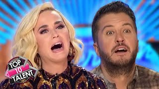 10 MOST VIEWED Auditions On American Idol 2020!