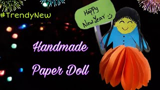DIY Crafts -How to make Paper Doll 💃| Cute gift |Special Wishes|Birthday | Newyear|Handmade Gift|