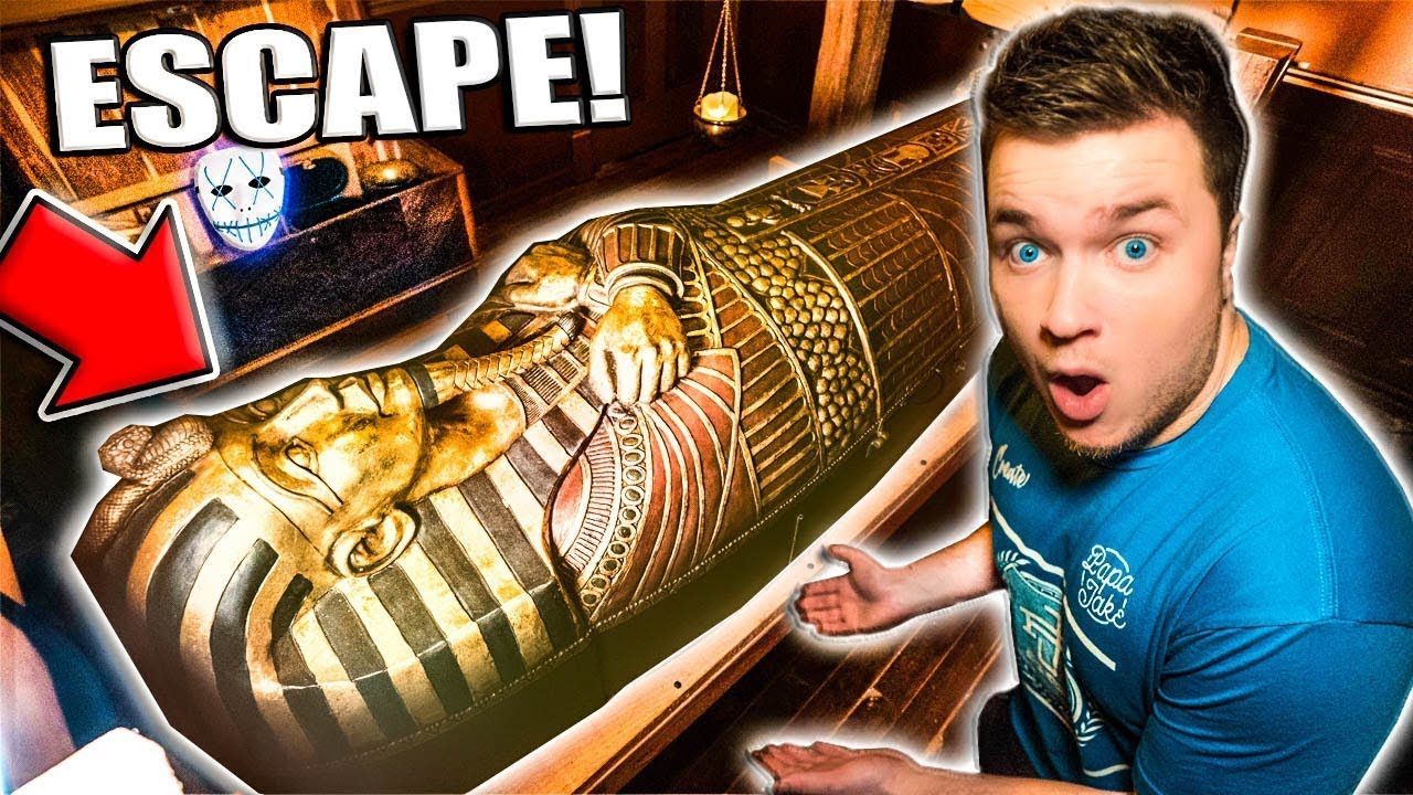 The Man Trapped Papa Jake Prison Escape Room Challenge