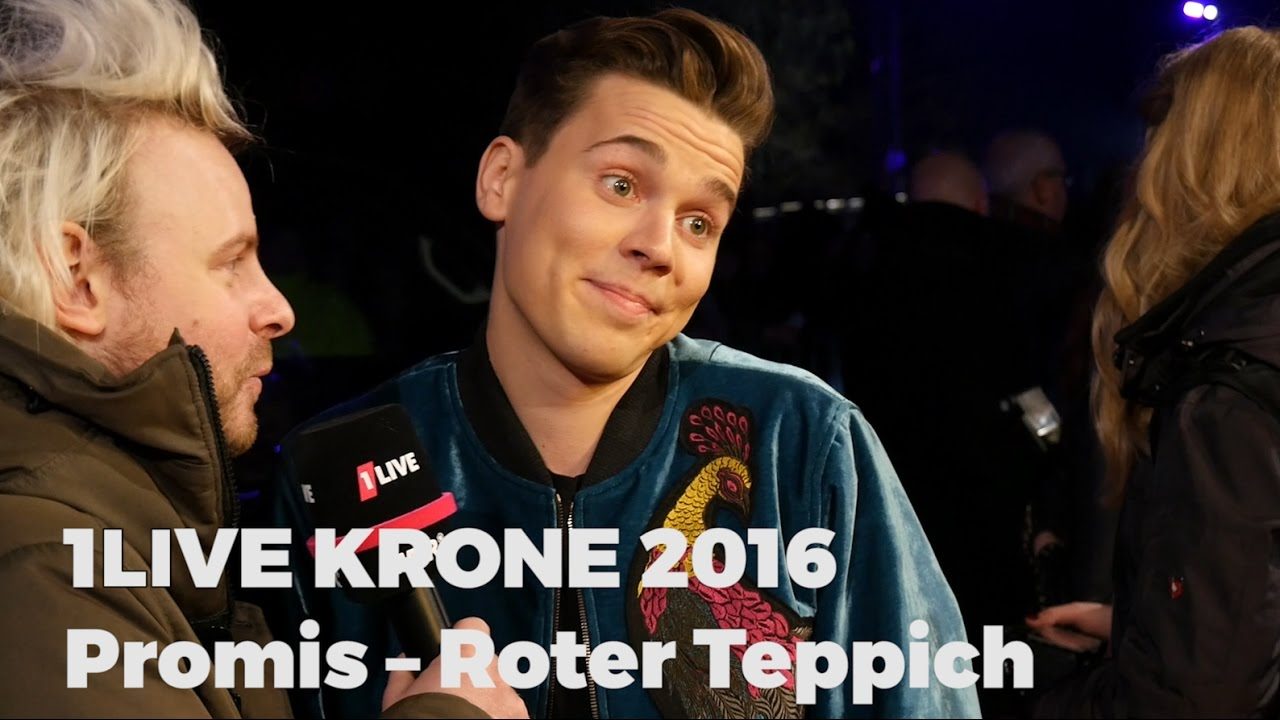 1live Krone Roter Teppich 1live Krone 2016 Promis Roter Teppich Und Aftershow Party