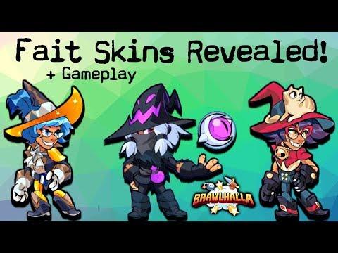 Fait • All Skins Revealed + Gameplay • Orb Training Brawlhalla 1v1