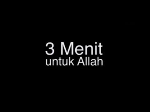 3 Menit Menghapus Dosa Anda