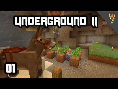 TERIMAKASIH, BOBO! - Minecraft Underground 2 Indonesia #1