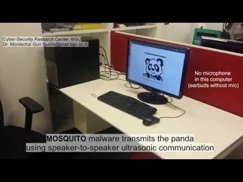 MOSQUITO Attack Allows Air-Gapped Computers to Covertly