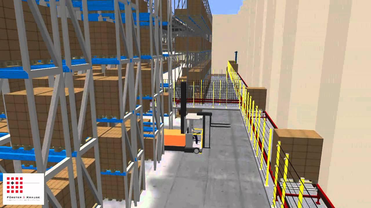 3d simulation warenhaus mit dem taravrbuilder von for Simulation 3d