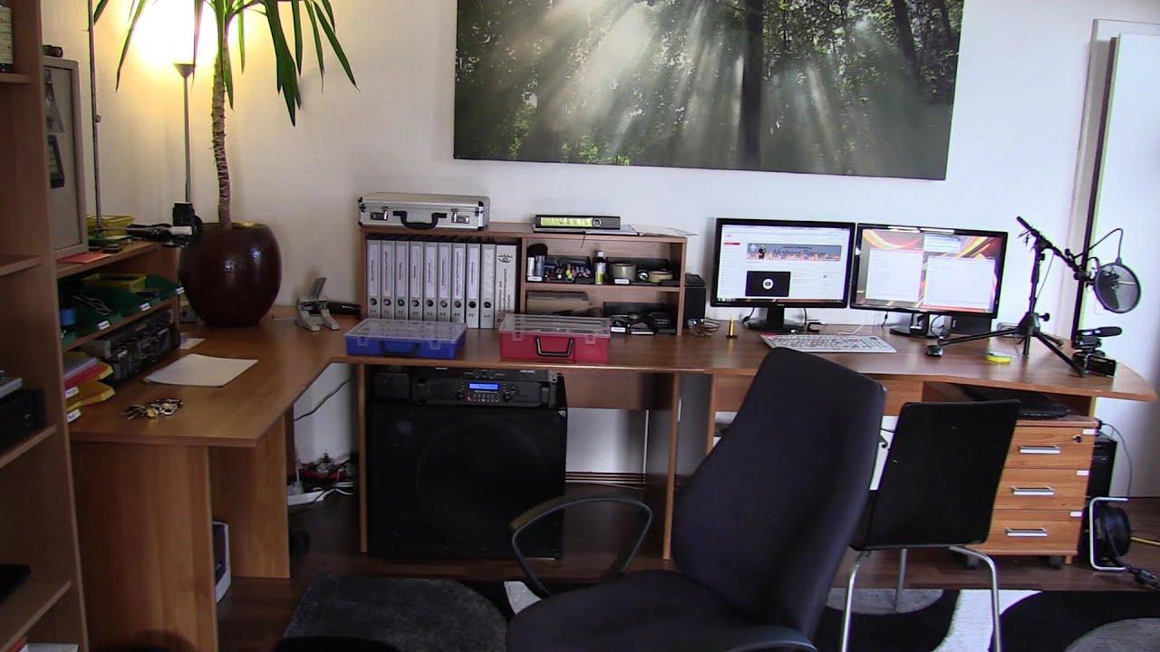 Room Special Mein Arbeitsplatz Buro Youtube