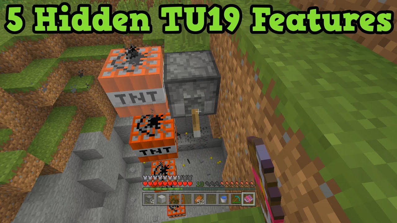Minecraft Xbox + PS3 + PS4 5 Hidden Features in TU19