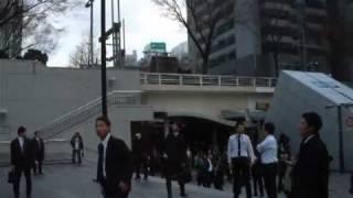 Tokyo earthquake, Japan, Tokyo, Shinjuku 11-03-2011.m4v