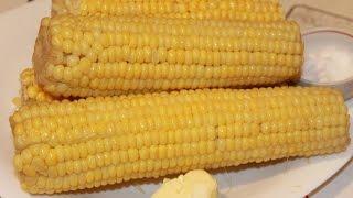 как вкусно сварить кукурузу?Горячая кукуруза (hot corn)