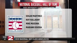1-22-19 Baseball HOF Class of 2019 announcement 6 p.m.