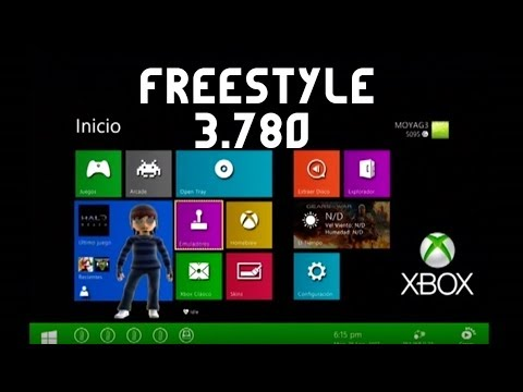 ACTUALIZAR FREESTYLE A 3 780-RGH-XBOX 360 by SOLUTIONX