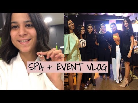 SPA DAY + BEAUTY EVENT VLOG | Dina Dash