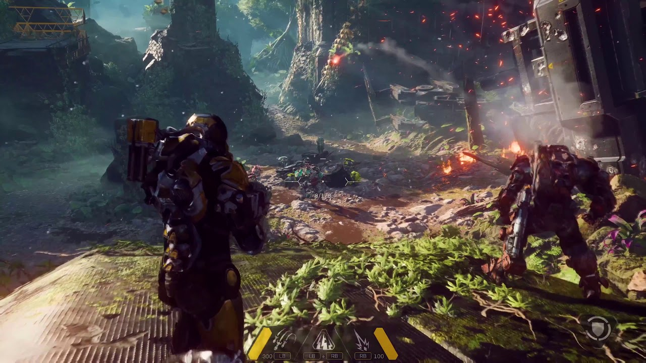 Anthem 4k 60fps Hdr Gameplay Xbox One X Youtube