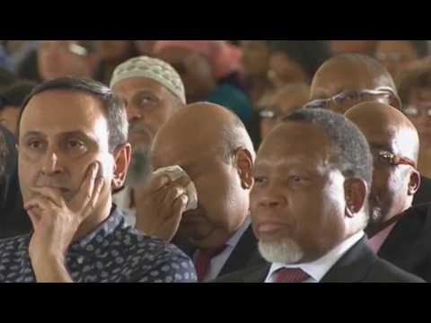 5 highlights from Kathrada funeral