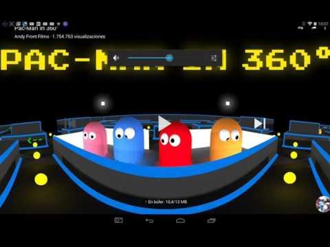 Pac-man 360 grados