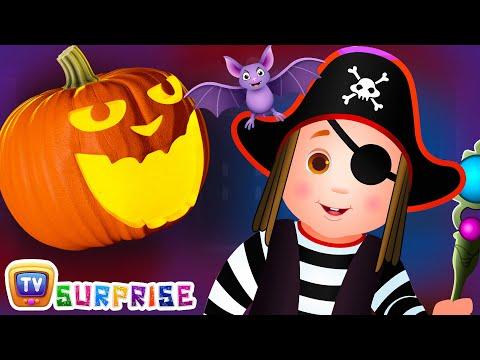 Halloween Surprise Eggs   Halloween Trick or Treat Costumes   Spooky Halloween Surprise   ChuChu TV