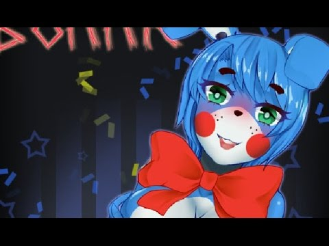 Speed paint : Toy Bonnie [Five Nights In Anime H Game R18+]