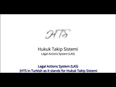 Legal Actions System ( Hukuk Takip Sistemi ) Demo