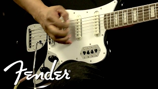 Squier Vintage Modified Bass VI Demo | Fender